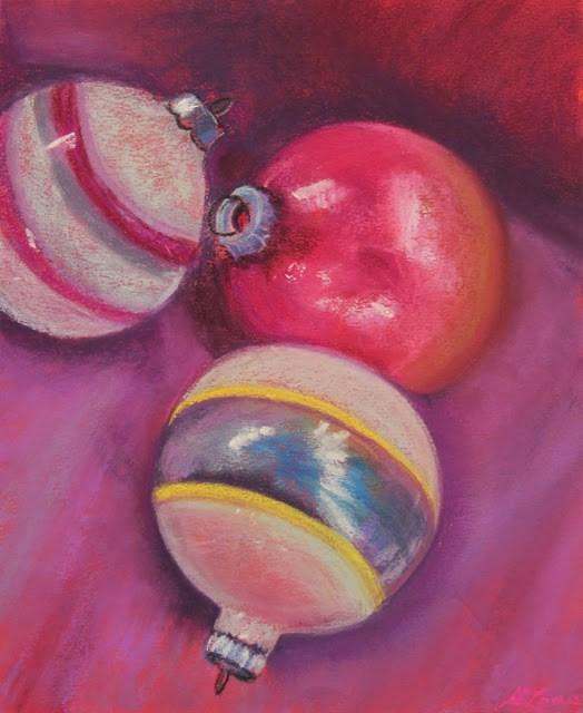 """Christmas Light"" original fine art by Sharon Lewis"