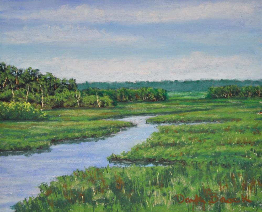 """Lowcountry Marsh"" original fine art by Darla Brock"