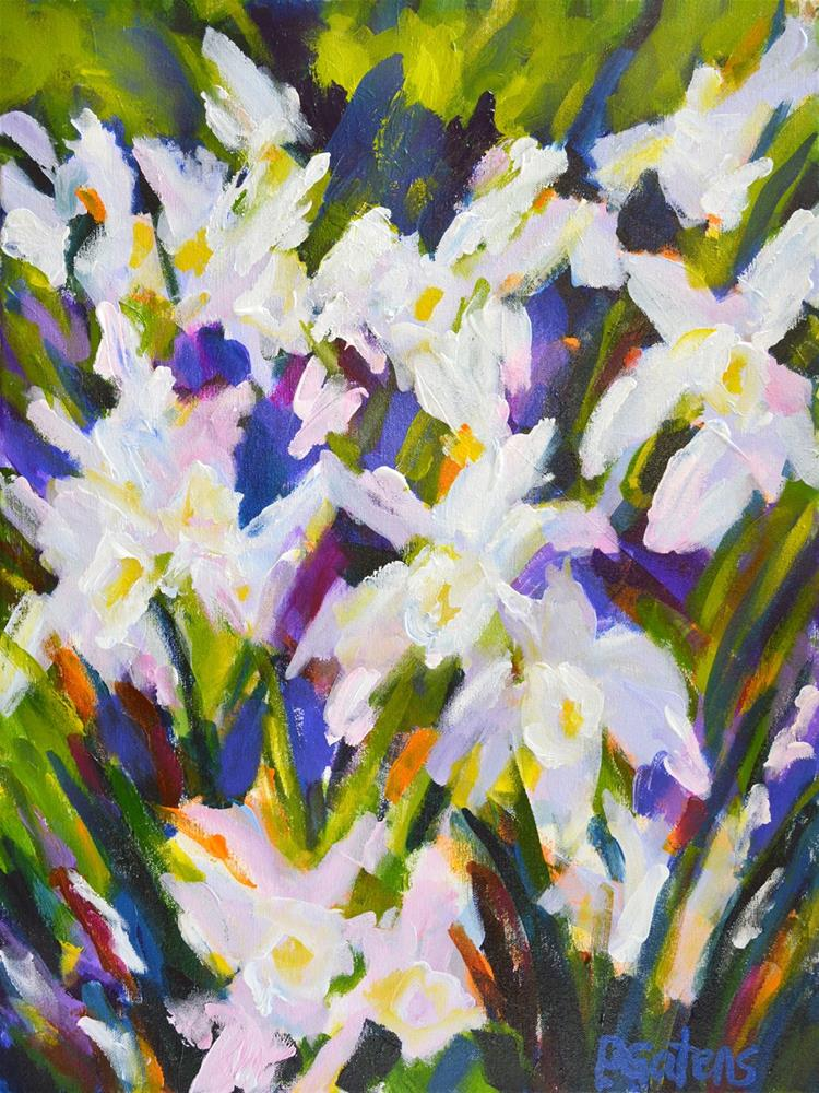"""Narcissus Poetica"" original fine art by Pamela Gatens"