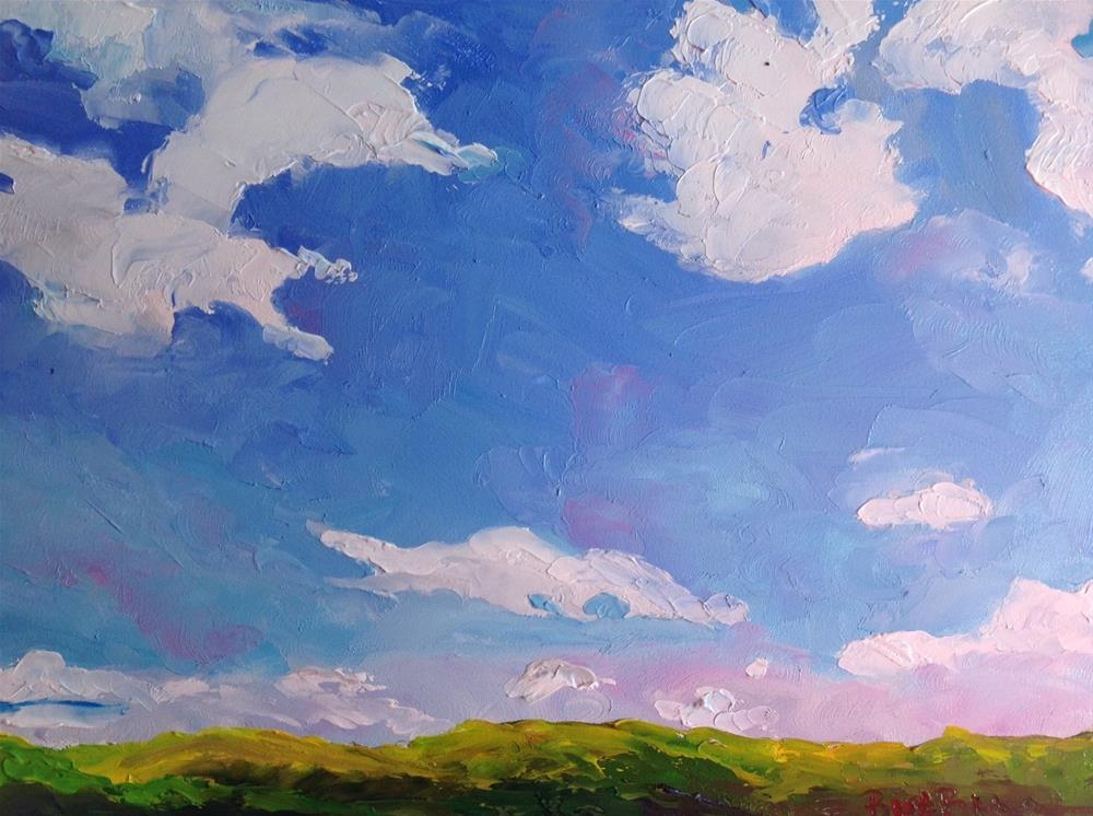 """A Bright Sunny Day"" original fine art by Rose Brenner"