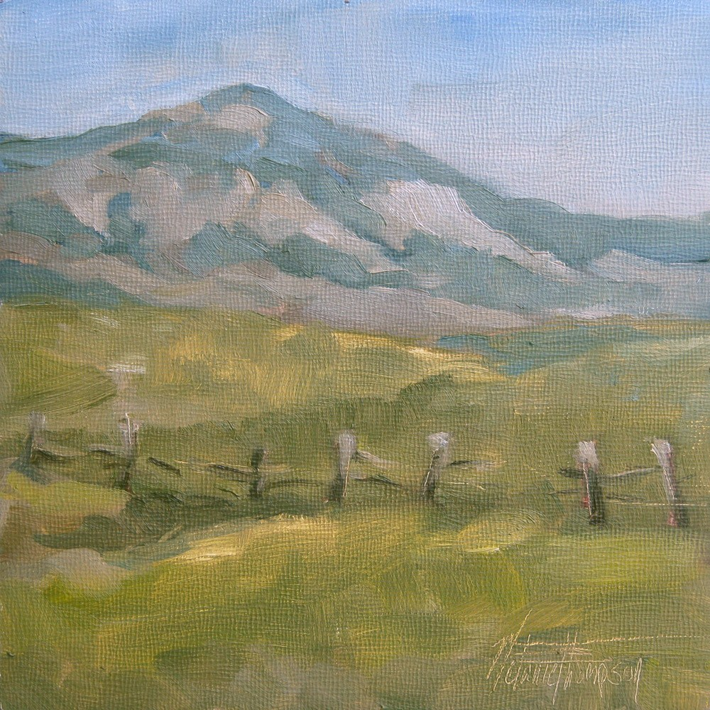 """Ironside Mountain"" original fine art by Melanie Thompson"