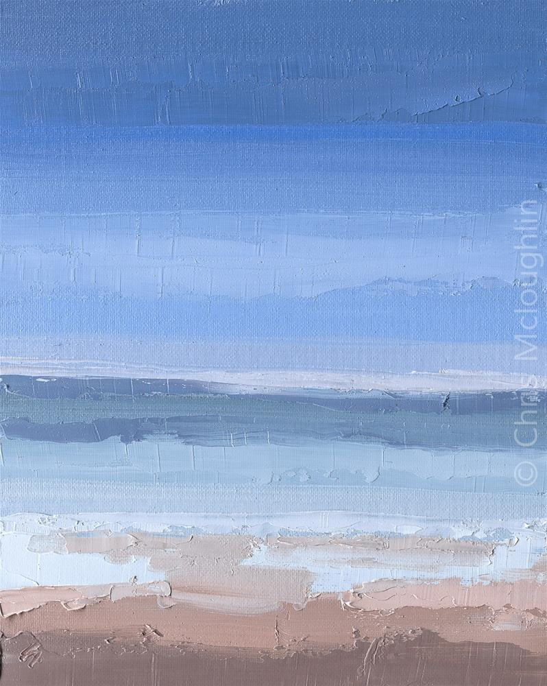 """A Still Sea"" original fine art by Chris Mcloughlin"