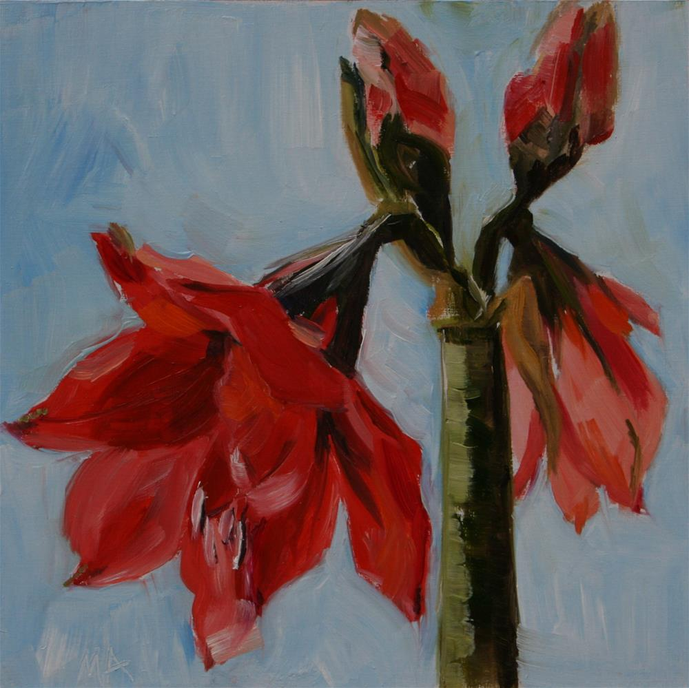"""Flowering Happens"" original fine art by Aniko Makay"