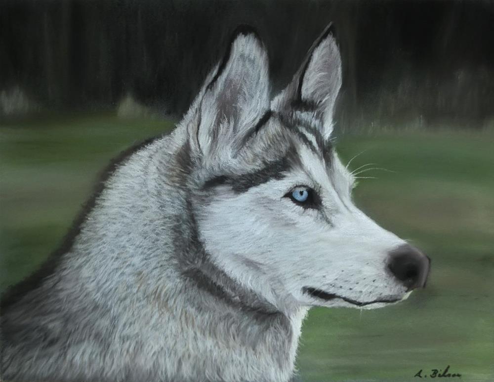 """Zuri"" original fine art by Amanda Bilson"