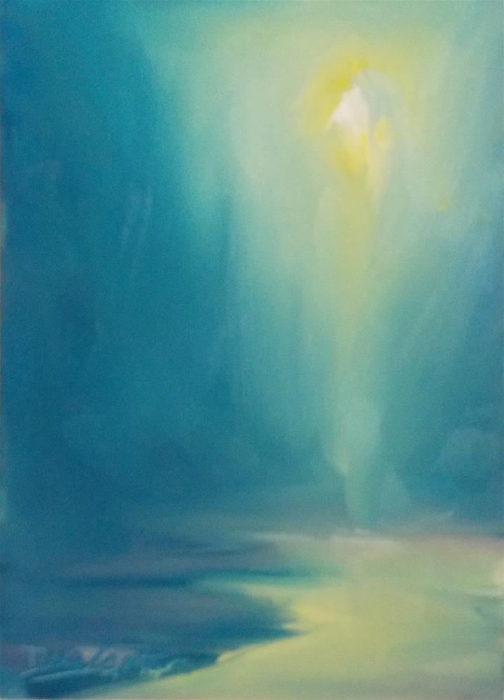 """LIFE LIGHT"" original fine art by Doug Carter"