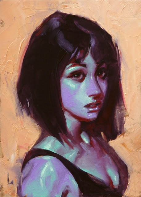 """Hot and Cold"" original fine art by John Larriva"