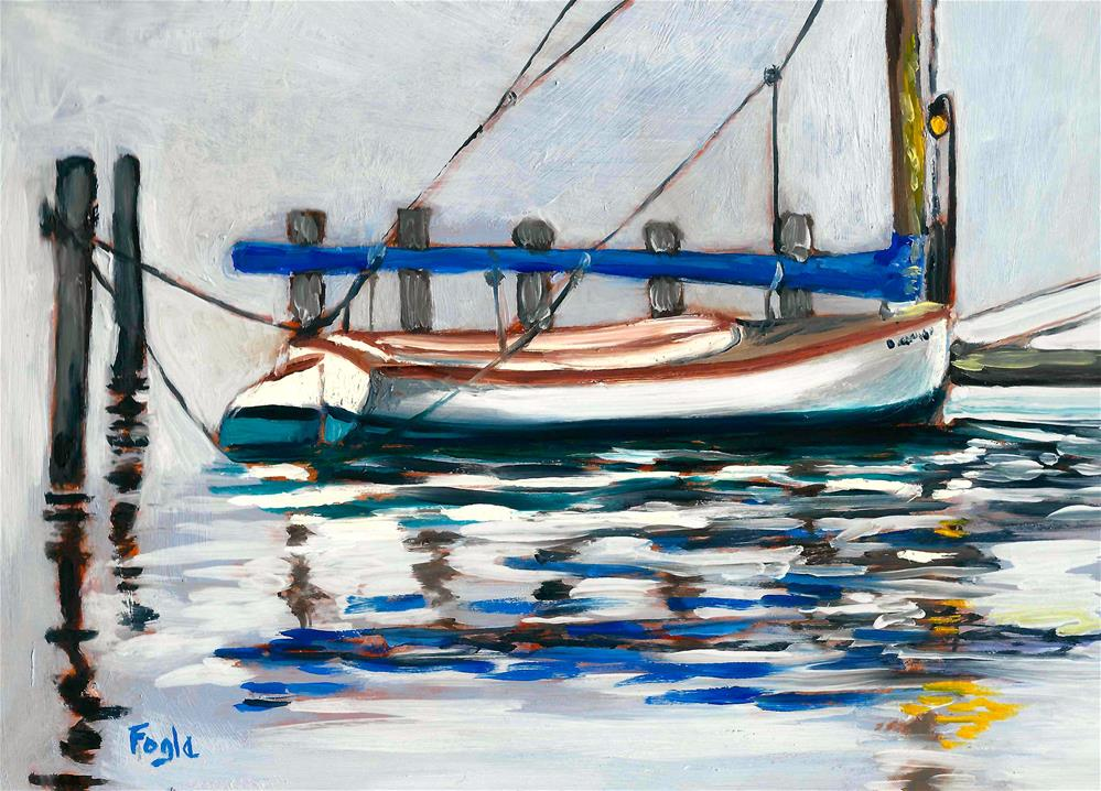 """Foggy"" original fine art by Rachel Fogle"