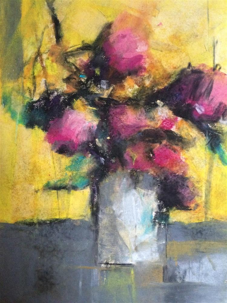 """Pastel study "" original fine art by Anny Kong"