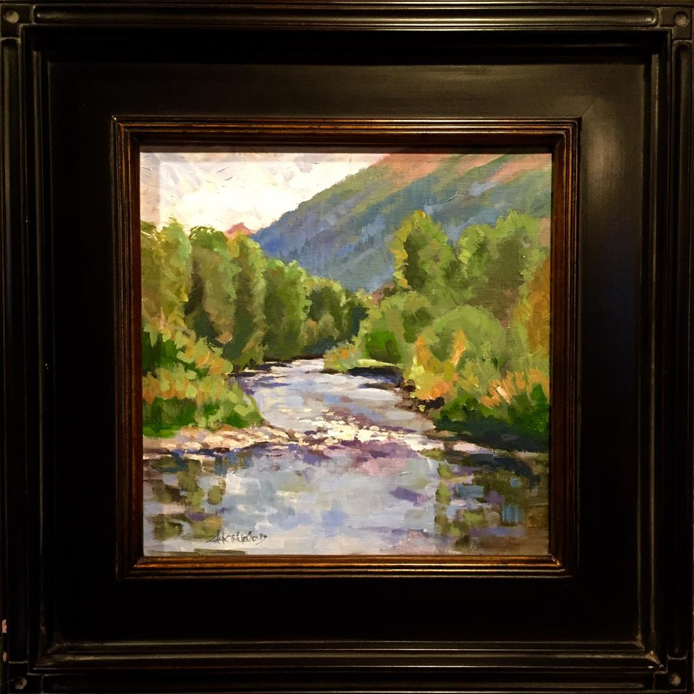 """The Big Wood at Deer Creek"" original fine art by Zack Thurmond"