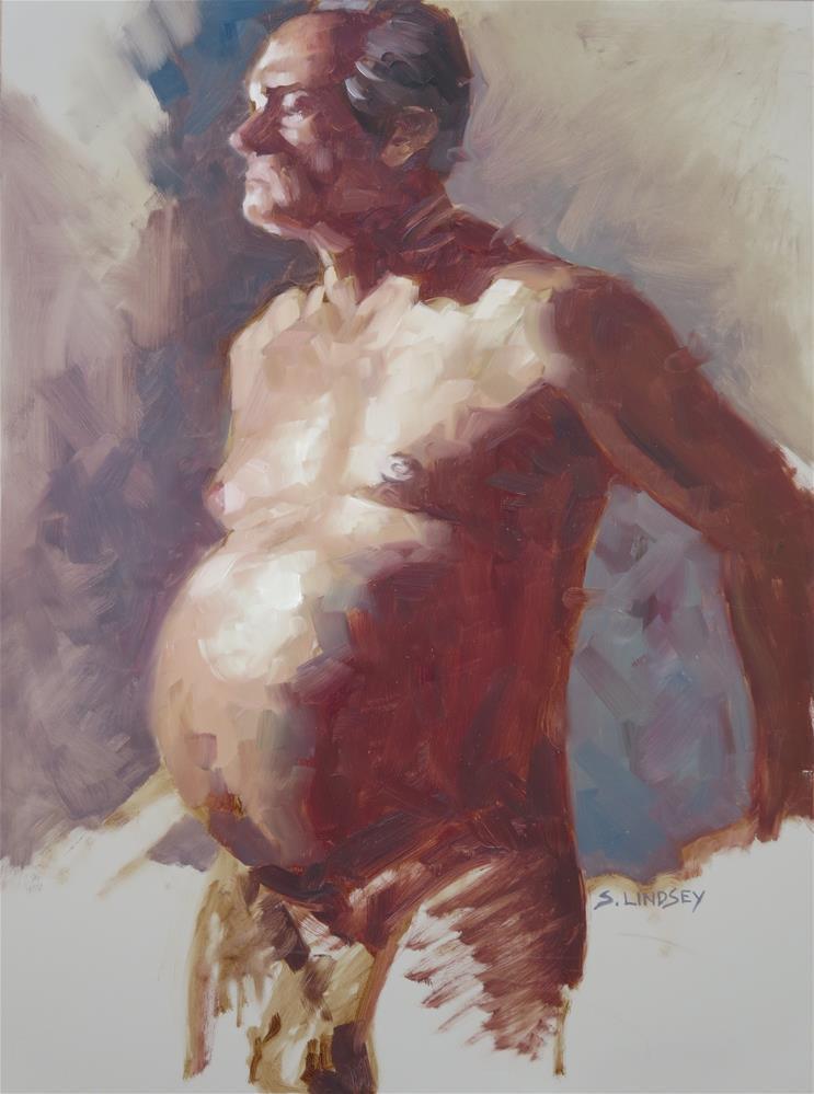 """Resolute"" original fine art by Susan Lindsey"