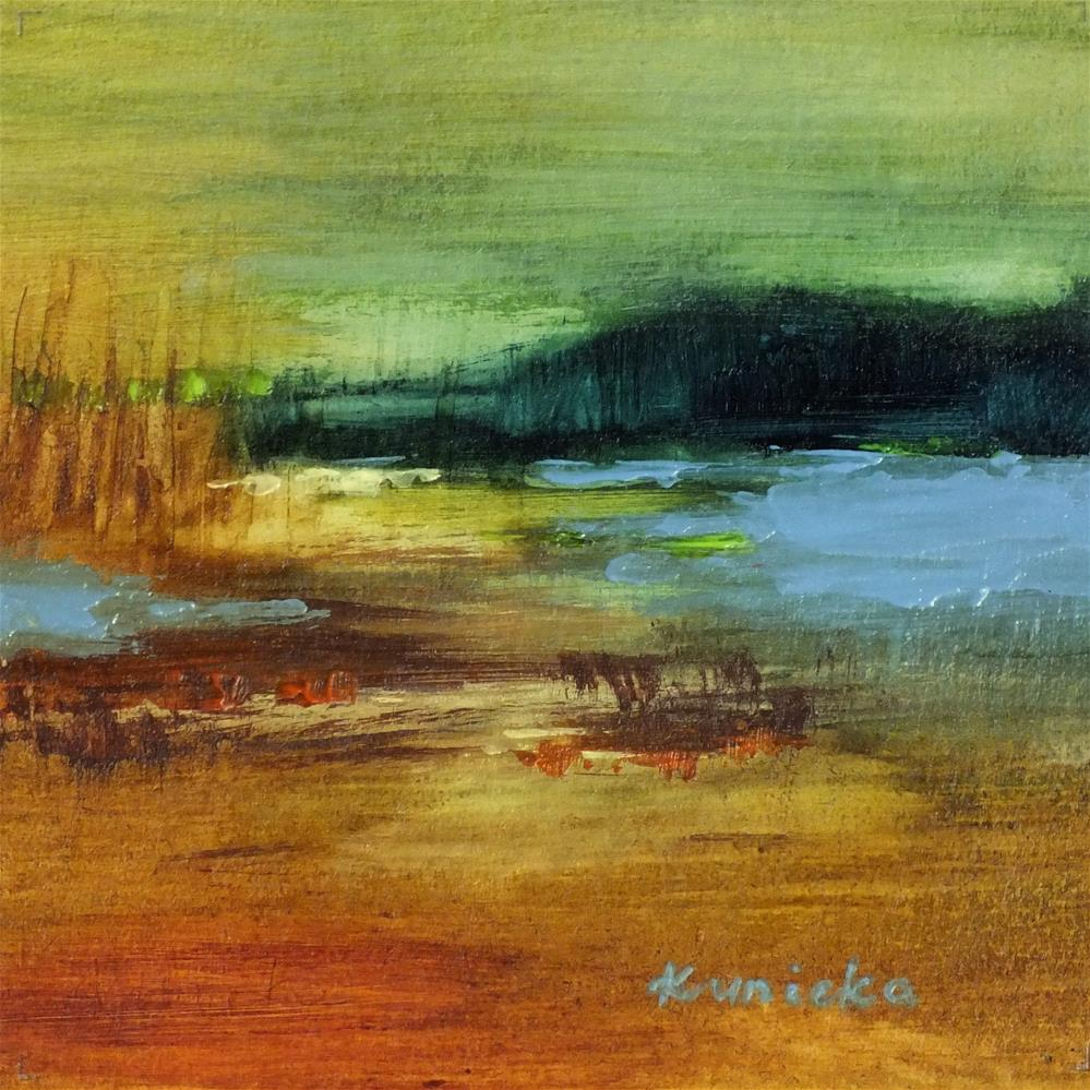 """Landscape138"" original fine art by Ewa Kunicka"
