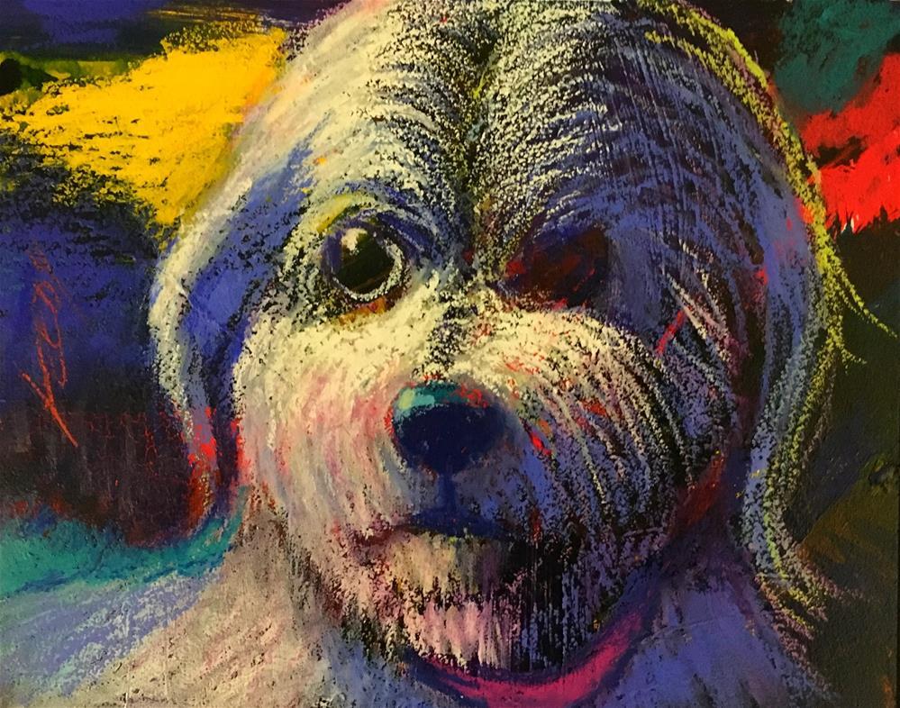 """I Use My Pathetic Look"" original fine art by Jeff Leedy"