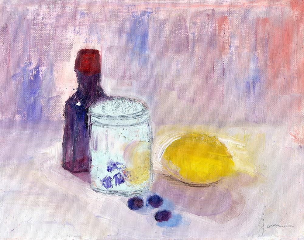 """Summer Recipe"" original fine art by Janet Gunderson"