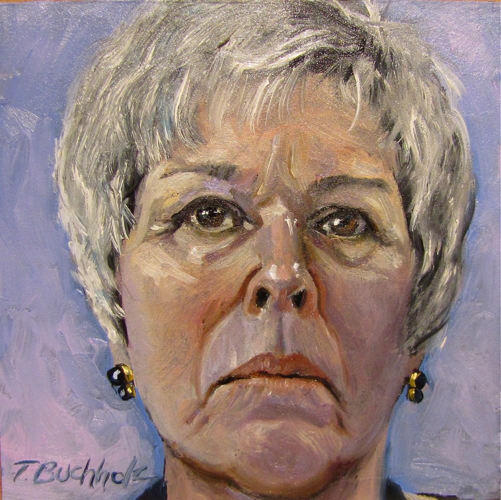 """Maria"" original fine art by Terri Buchholz"