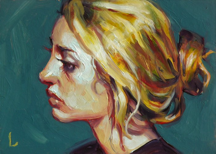 """Canary"" original fine art by John Larriva"