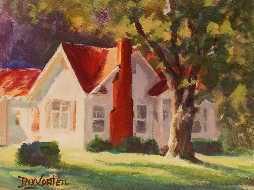 """HOME SWEET HOME"" original fine art by Doug Carter"
