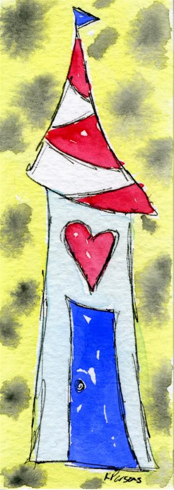 """Love in our House"" original fine art by Kali Parsons"