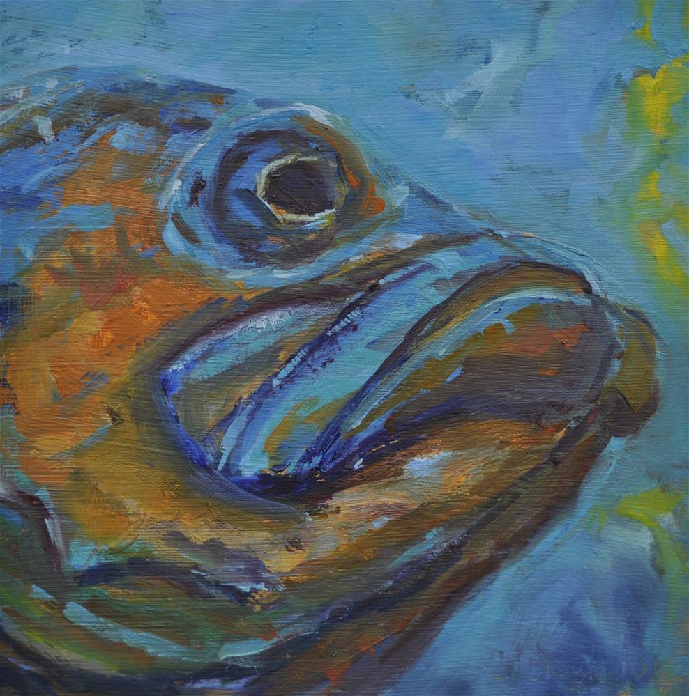 """Bah Hum Bug"" original fine art by Catherine Crookston"