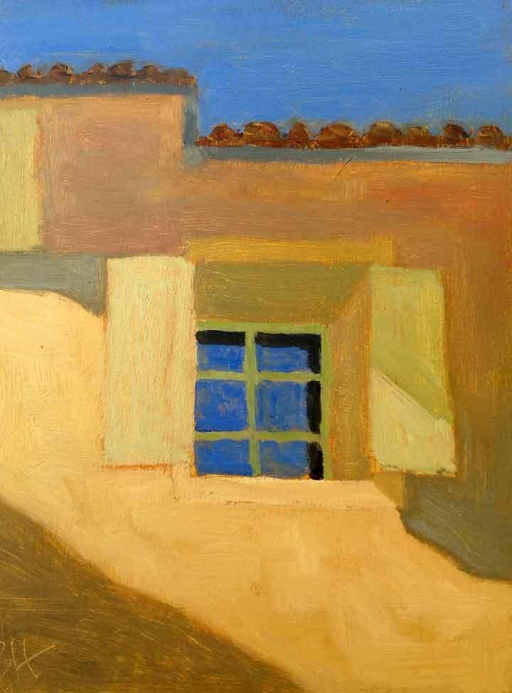 """Provencal Window"" original fine art by Bobbi Heath"