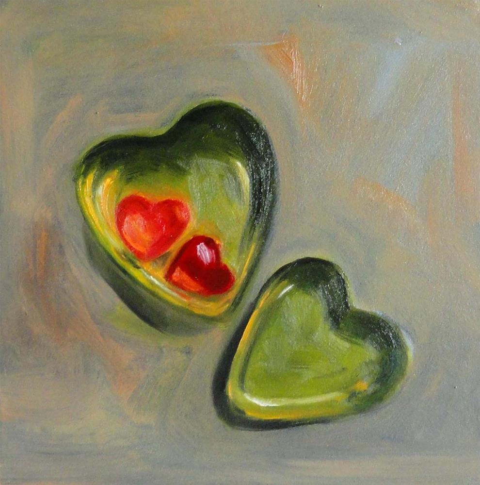 """My Heart of Hearts"" original fine art by Cietha Wilson"