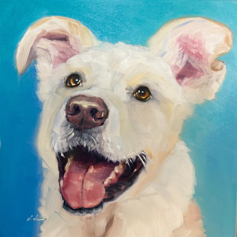 """Rudy"" original fine art by Mb Warner"
