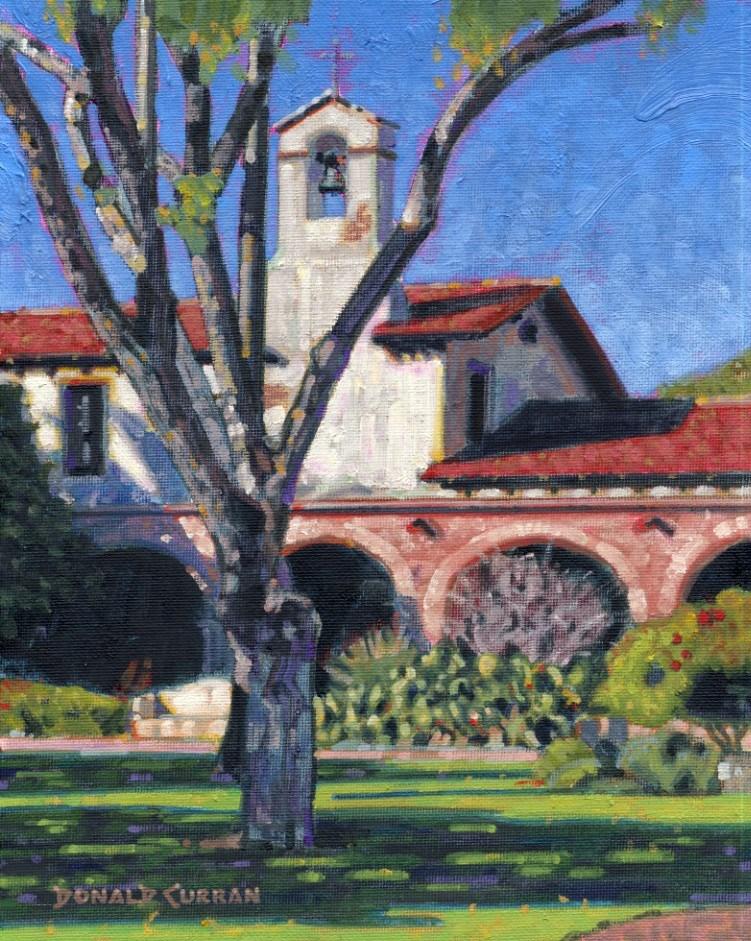 """San Juan Capistrano"" original fine art by Donald Curran"