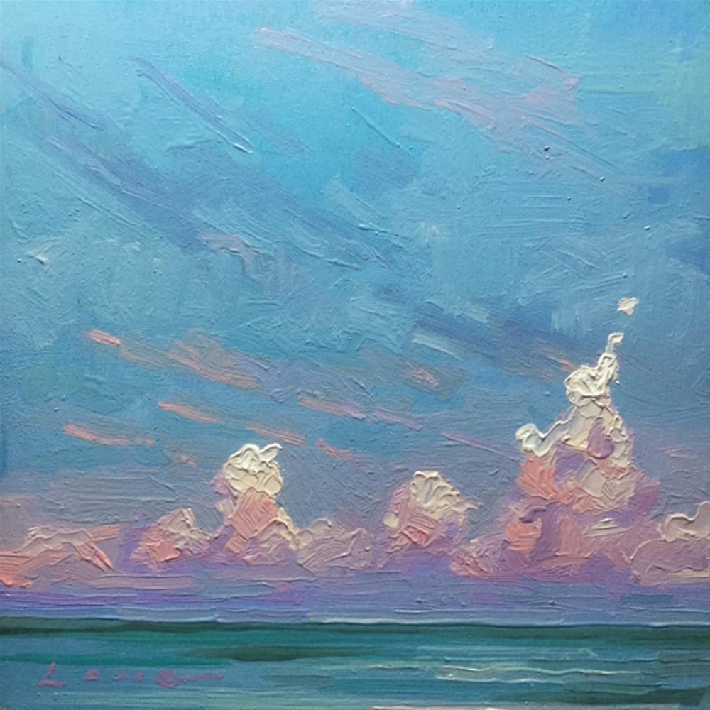 """Naples"" original fine art by Chris Long"