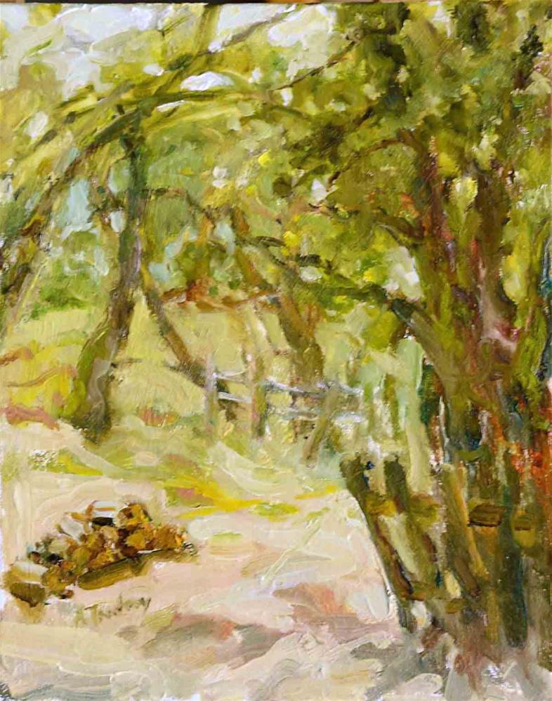 """Community Park Trees"" original fine art by alicia tredway"
