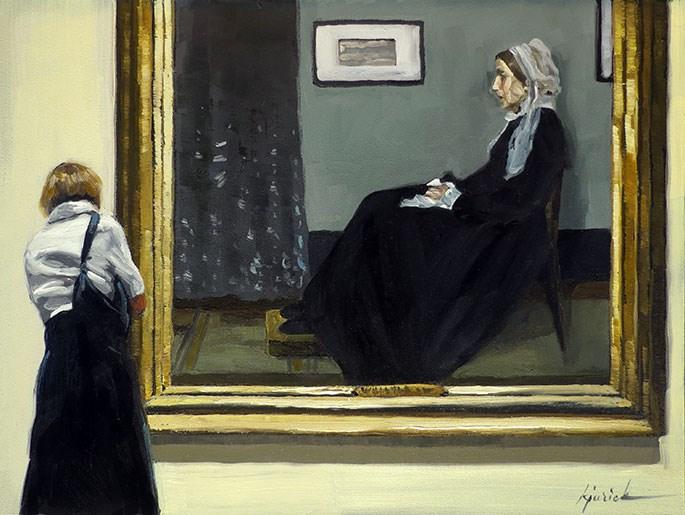 """""""Mother Figure"""" original fine art by Karin Jurick"""