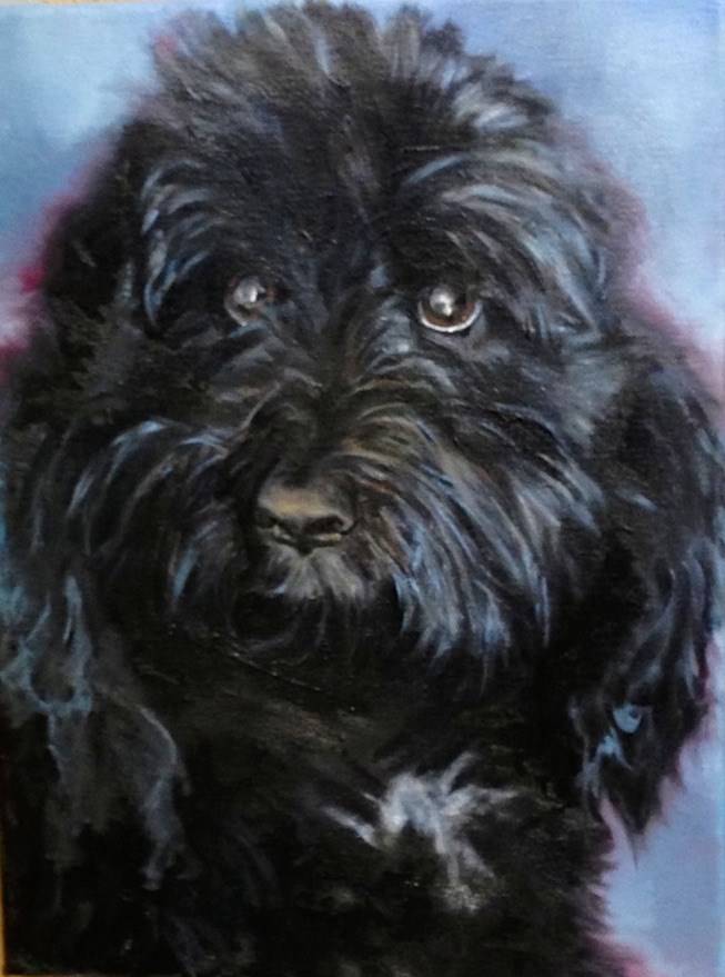 """Jack from Scottsdale Az."" original fine art by Nancy Levinson"
