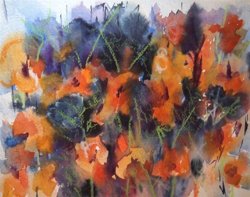 """Cosmos"" original fine art by Amy Bryce"