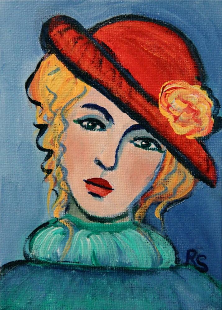 """Greta"" original fine art by Roberta Schmidt"