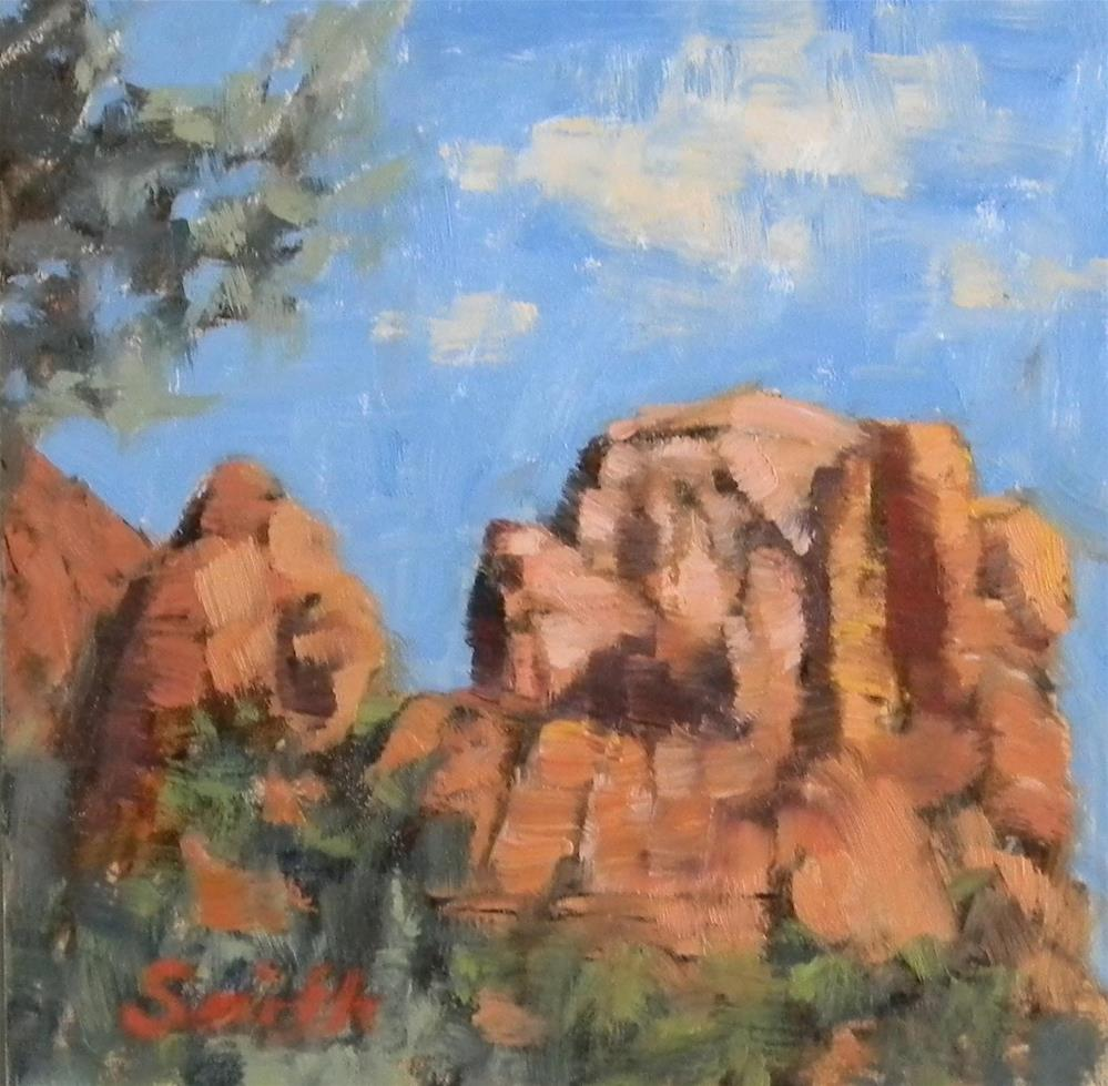 """Sedona"" original fine art by Barbie Smith"