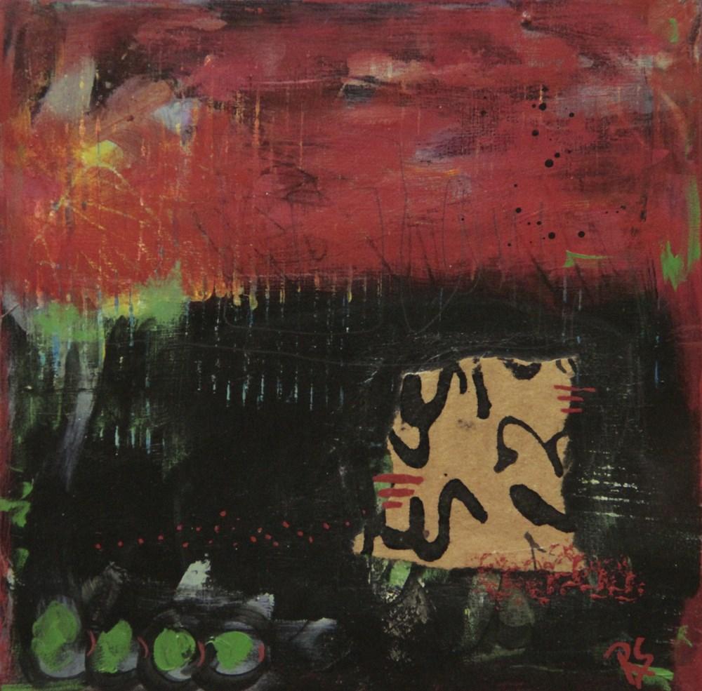 """Inward Passages"" original fine art by Roberta Schmidt"