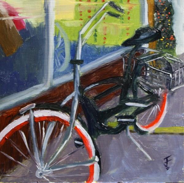 """Cruiser"" original fine art by Jane Frederick"