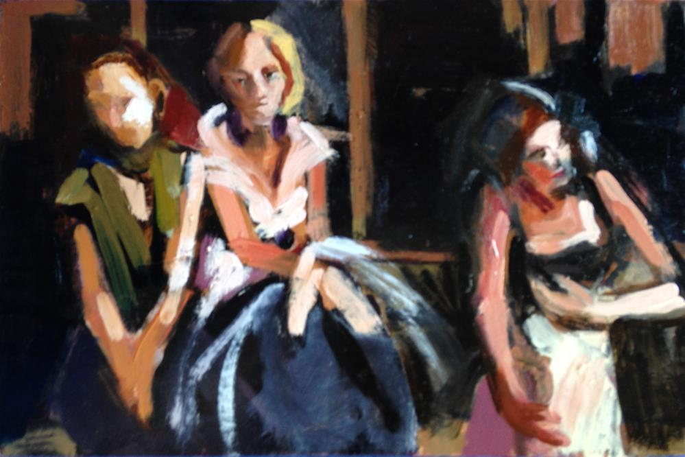 """The Three Graces"" original fine art by Pamela Hoffmeister"