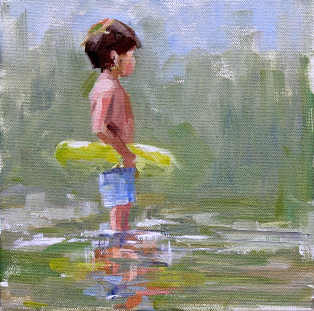 """sprite"" original fine art by Carol Carmichael"