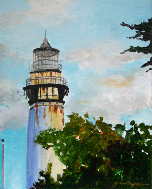 """The Landmark"" original fine art by JoAnne Perez Robinson"