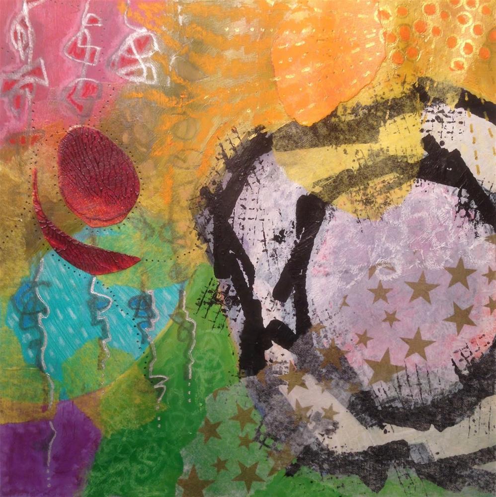 """""""IMPROV, Day 1d"""" original fine art by Dotty  Seiter"""