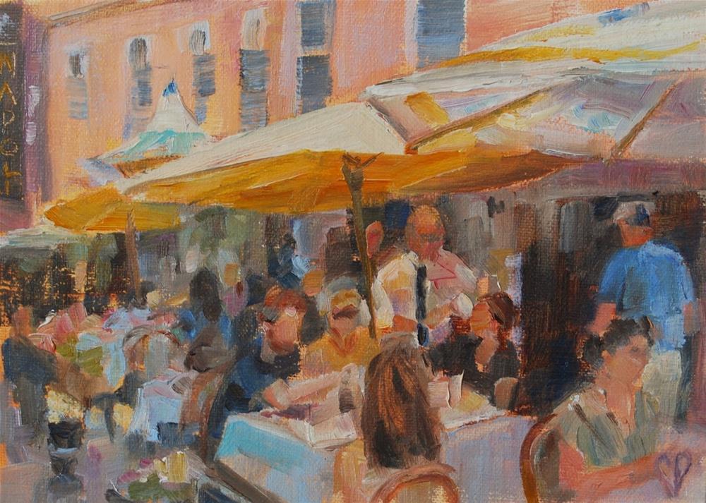 """""""Let's Go to Paris!"""" original fine art by Carol DeMumbrum"""