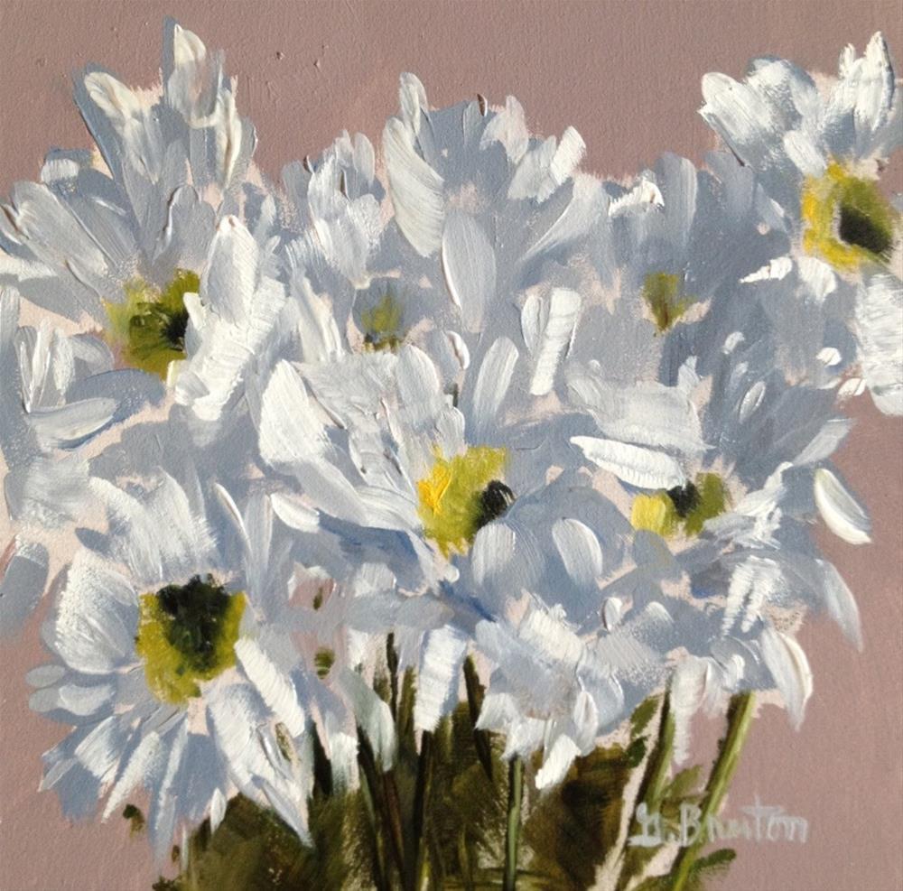 """Daisies"" original fine art by Gary Bruton"
