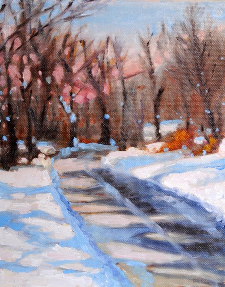 """""""#12 NY Landscape"""" original fine art by Lori Jacobs - Farist"""