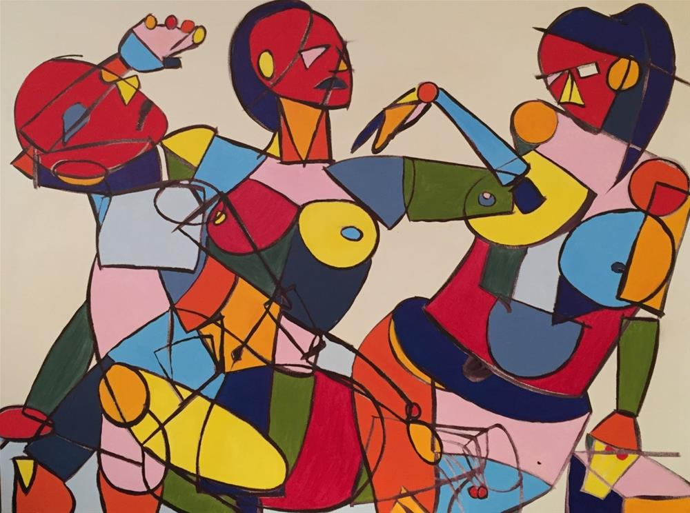 """trio"" original fine art by Arron McGuire"