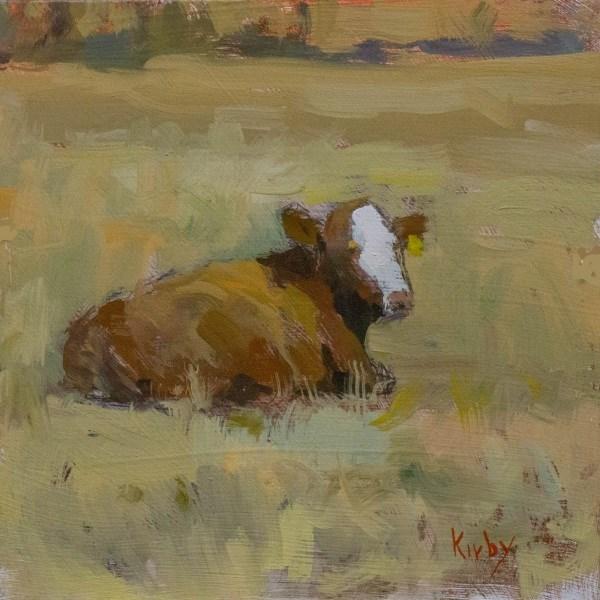 """A Days Rest"" original fine art by Randall Cogburn"