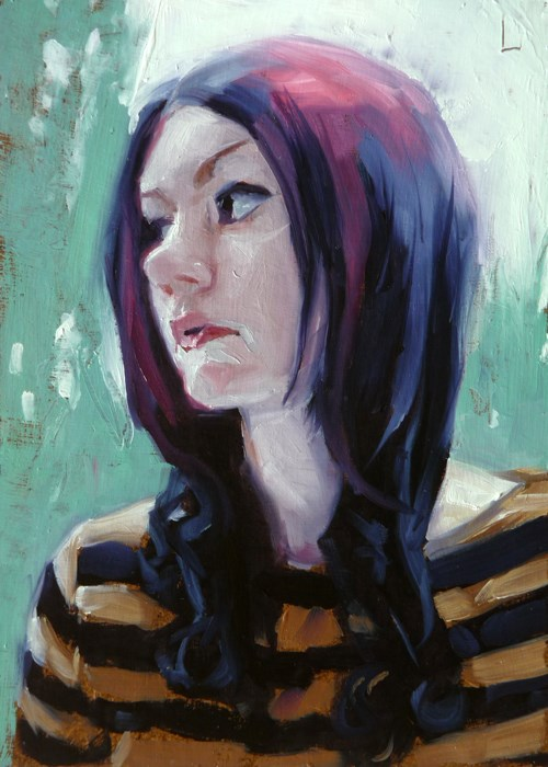 """Bee"" original fine art by John Larriva"