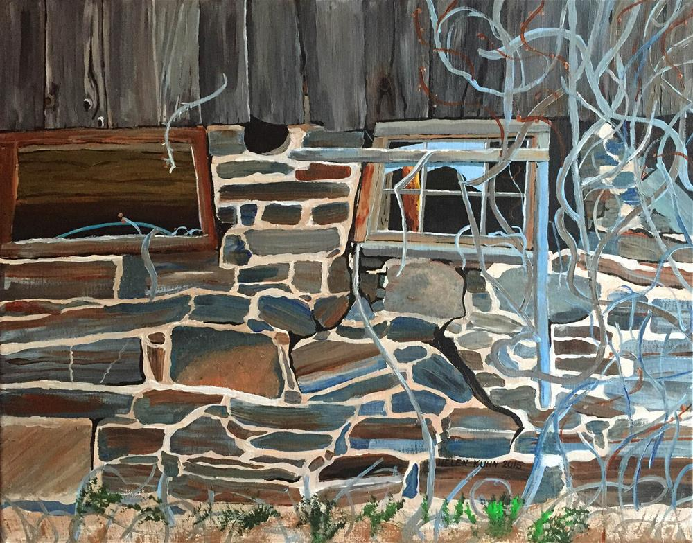"""Windows"" original fine art by Helen Kuhn"