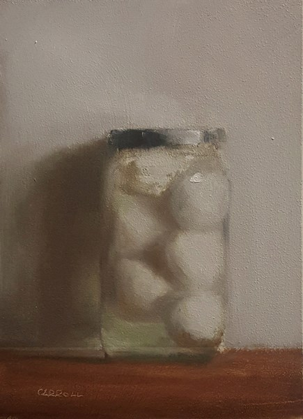 """Pickled Egg"" original fine art by Neil Carroll"