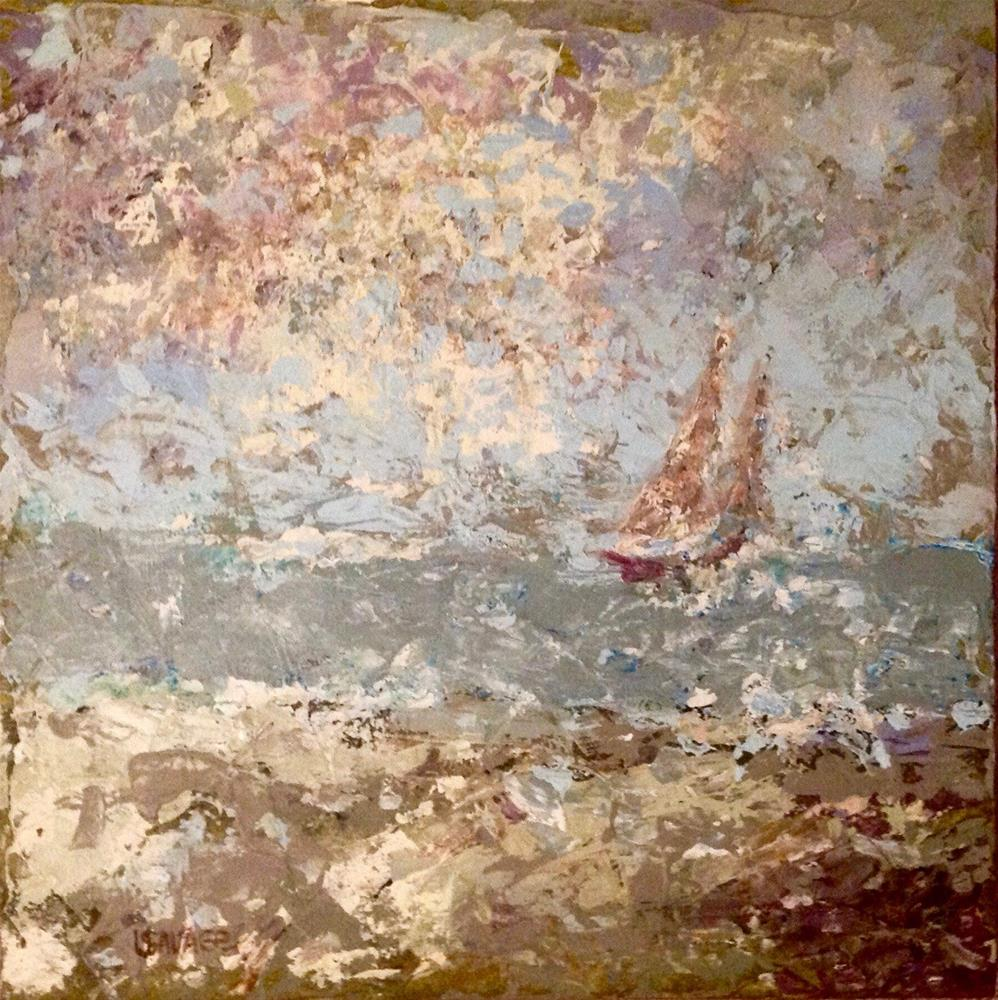 """Sail On By"" original fine art by Judy Usavage"