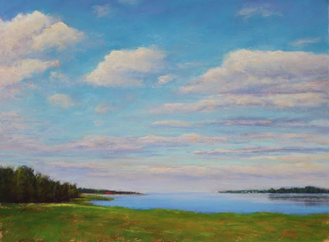 """""""Heaven of a Summer Day"""" original fine art by Sharon Lewis"""