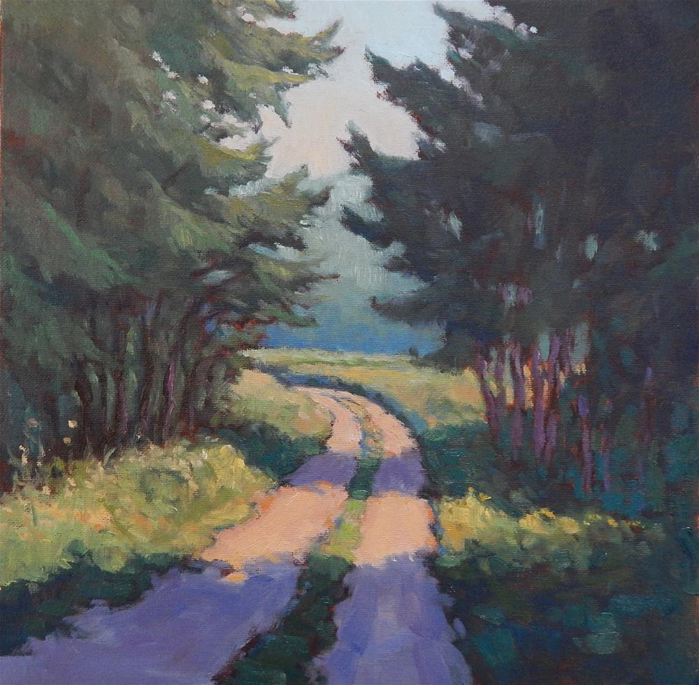 """Into the Woods"" original fine art by Lisa Kyle"